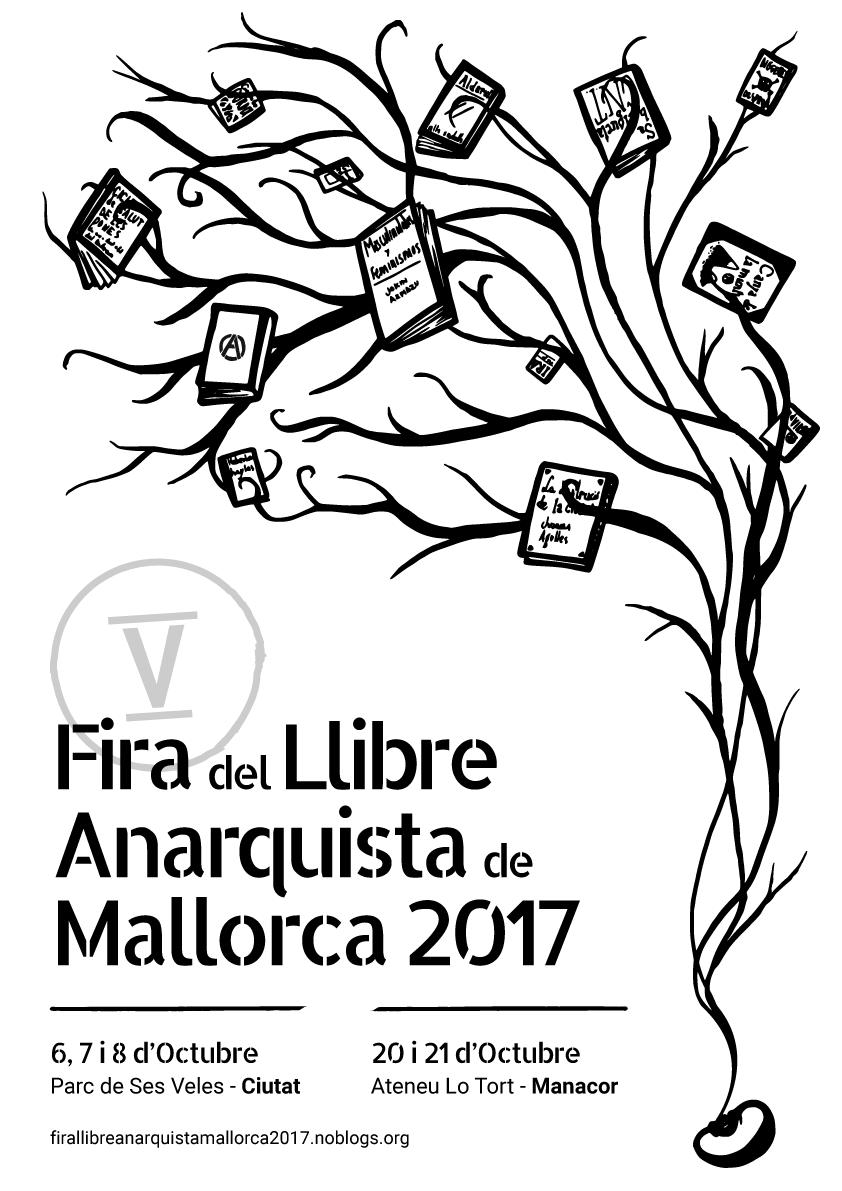 V Fira del Llibre Anarquista de Mallorca (2017)